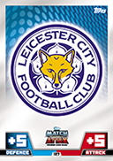Match Attax Extra 2015 Leicester City Cards