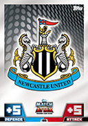 Match Attax Extra 2015 Newcastle United Cards