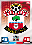 Match Attax Extra 2015 Southampton Cards