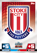 Match Attax Extra 2015 Stoke City Cards