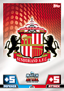 Match Attax Extra 2015 Sunderland Cards