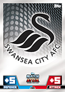 Match Attax Extra 2015 Swansea City Cards