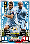 Match Attax Extra 2015 Duos Cards