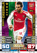 Match Attax Extra 2015 Man Of The Match Cards