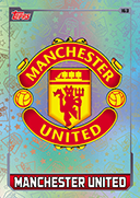 Match Attax Extra 2016 Manchester United Cards