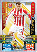 Match Attax Extra 2016 Man Of The Match Cards