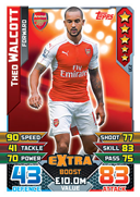 Match Attax Extra 2016 Extra Boosts Cards