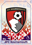 Match Attax Extra 2017 AFC Bournemouth Cards