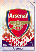 Match Attax Extra 2017 Arsenal Cards