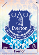 Match Attax Extra 2017 Everton Cards