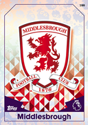 Match Attax Extra 2017 Middlesbrough Cards