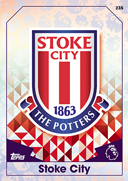 Match Attax Extra 2017 Stoke City Cards