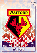 Match Attax Extra 2017 Watford Cards