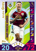Match Attax Extra 2017 Hat Trick Heroes Cards