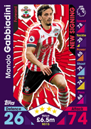Match Attax Extra 2017 New Signings Cards