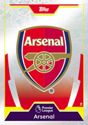 Match Attax Extra 2018 Arsenal Cards
