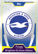 Match Attax Extra 2018 Brighton and Hove Albion Cards
