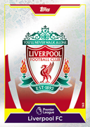 Match Attax Extra 2018 Liverpool Cards