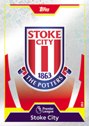 Match Attax Extra 2018 Stoke City Cards
