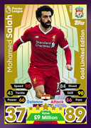 Match Attax Extra 2018 Limited Edition Cards