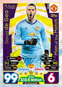 Match Attax Extra 2018 Man Of The Match Cards
