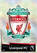 Match Attax Extra 2019 Liverpool Cards