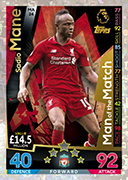 Match Attax Extra 2019 Man Of The Match Cards