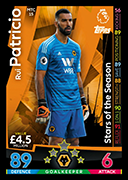 Match Attax Extra 2019 Stars of the Season Cards