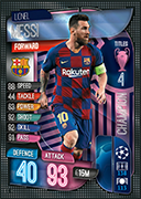 Match Attax Extra 2020<br />Champions Cards