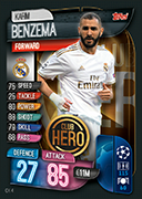 Match Attax Extra 2020<br />Club Hero Cards