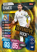 Match Attax Extra 2020<br />Defensive Rock Cards
