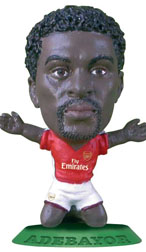 Emmanuel Adebayor   Arsenal Home