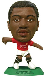 Patrice Evra   Manchester United Home