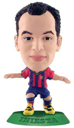 Andres Iniesta   Barcelona Home