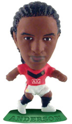 Anderson   Manchester United Home