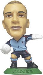 David James   England Away Goalkeeper