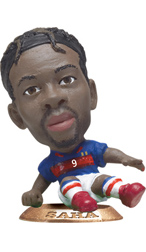 Louis Saha   France Home Kicker