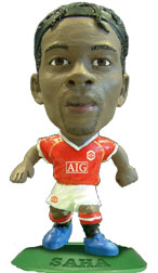 Louis Saha   Manchester United Home