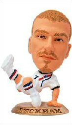 David Beckham   England All White