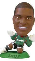 Dida   AC Milan Home Goalkeeper