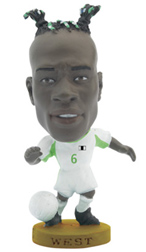 Taribo West   Nigeria Away (2002)