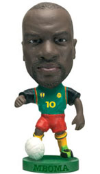 Patrick Mboma   Cameroon Home