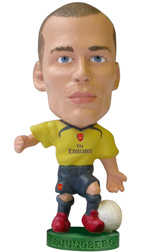 Fredrik Ljungberg   Arsenal Away (2006/07)