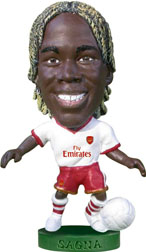 Bacary Sagna   Arsenal Away (2007/08)
