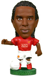Anderson   Manchester United CL Final (2008)