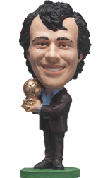 Michel Platini   Ballon D'or Suit