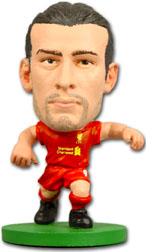 Andy Carroll Liverpool Home (2012/13) Soccerstarz