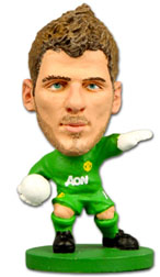 David De Gea Manchester United Home (2012/13) Soccerstarz