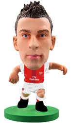 Laurent Koscielny Arsenal Home (2016/17) Soccerstarz