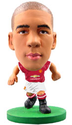 Chris Smalling Manchester United Home (2015/16) Soccerstarz